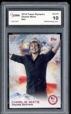 2014 Charlie White Topps Usa Olympics Figure Skating Rookie Gem 10 #93