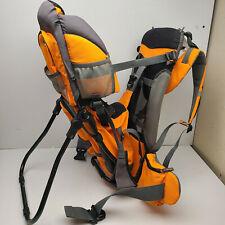 Luvdbaby Baby Toddler Ergonomic Adjustable Backpack Hiking Carrier Orange