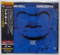 NEW CD / JIM HALL / CONCIERTO / CTI / KING JAPAN SA-CD HYBRID KCTCD1001