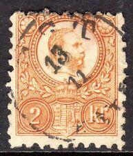 Hungary - 1871 Definitive Franz Josef - Mi. 8a VFU (2)