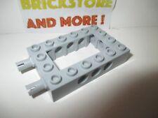 Lego - 1x Technic Brick Brique Open Center 4x6 6x4 pins 40344c01 gray/gris/grau