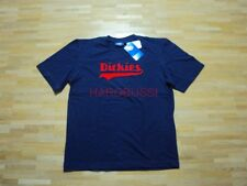Original Dickies Jeans Skate Flock T-Shirt College Style Gr: XL NEU dunkelblau