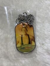 JACK SWAGGER 2012 Topps Dog Tag WORN Shirt RINGSIDE RELIC Wrestling WWE