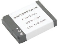 new Battery and Charger AHDBT-001 AHDBT-002 AHDBT001 For GoPro Hero 2 Hero2