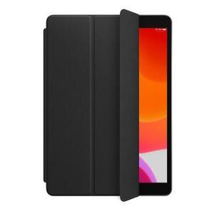 Genuine iPad 7, 8 & 9 (7th, 8th & 9th Gen) Leather Smart Cover - Black