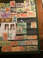 Timbres de collection: Vietnam Indochine Thaïlande Laos Cambodge de 1922 à 1958