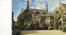 Postcard  Gloucestershire  Hidcote Bartrim Manor  the  manor house forecourt