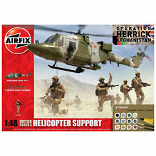 Airfix British Forces Helicopter Support Gift Set 1:48 A50122