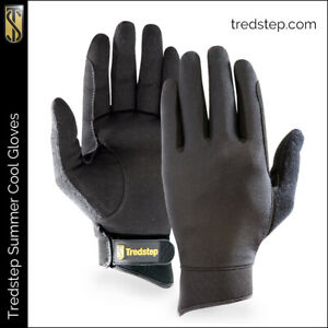 Tredstep Summer Cool Gloves with AirFibre in Black