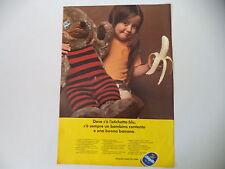 advertising Pubblicità 1973 BANANE CHIQUITA