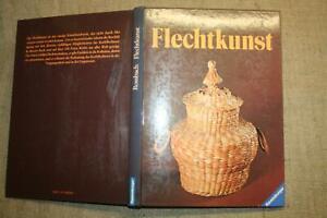 Fachbuch Flechten, Flechtkunst, Korbmacher, Korbflechten, Materialien, Techniken