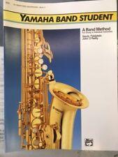 Yamaha Band Student Baritone Saxophone Method Book 2