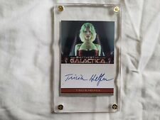 Battlestar Galactica Trading Card – Autographed – Tricia Helfer