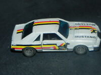 VINTAGE 1982 KIDCO FORD MUSTANG 5.0 FOXBODY HATCHBACK 1:64 MACAO VERY RARE