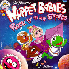 NEW Muppet Babies 1993 Rock It to the Stars TV Cartoon Soundtrack CD Rare & OOP!