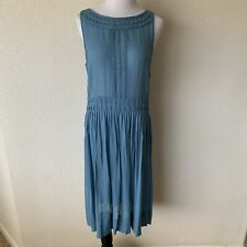 DKNY Tank Midi Dress Size 12 Silk