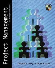 Project Management: The Managerial Process by Clifford F. Gray and Erik W....