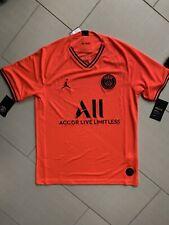 Nike Jordan PSG Away Jersey Orange Jumpman AJ5552-613 Men M Air Swoosh Neymar