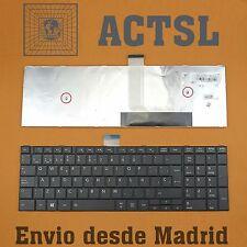 TECLADO ESPAÑOL para Toshiba Satellite C50-A C50D-A  |  P/N: MP-11B96E0-528B