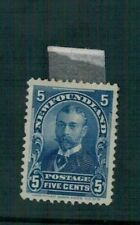 CANADA.NEWFOUNDLAND, 1899. SG.90. 5 cents MINT.HINGED. SEE PICTURES