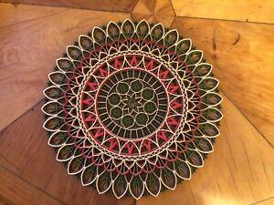 Beautiful, multi-layer wooden Mandala. Made in Wales.