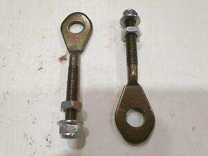 ATV,QUAD CHAIN TENSIONER ADJUSTERS (SET OF 2) & AUTOLUG FLANGE NUTS. L=100MM
