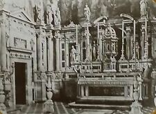One of the Altars,Certosa in Val d'Ema, Florence,Italy Magic Lantern Glass Slide