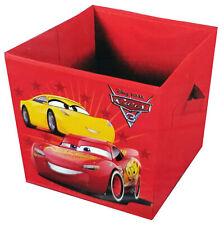 Cars 3 Falt-Spielzeugkiste Box Foldable Kid's Room Playroom Storage
