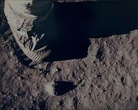 NASA Apollo 11 Type I Photograph , Buzz aldrins Foot On Lunar Surface!