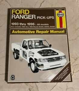 Repair Manuals Literature For 1996 Ford Ranger For Sale Ebay