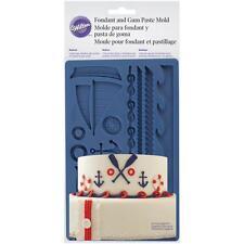 Wilton - Nautical Fondant and Gum Paste Mould - birthday/wedding - fondant/clay