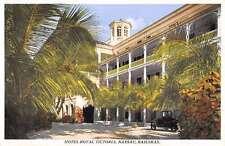 Nassau Bahamas Hotel Royal Victoria Street View Antique Postcard K54529