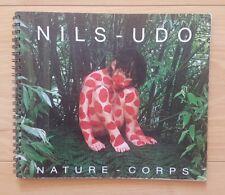 Nils-Udo Nature Corps - livre limité à 600 copies land art