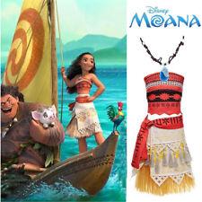 4a5f2f8fadea Women Girl Moana Animie Movie Polynesia Princess Dress Cosplay Costume Suit  Gift