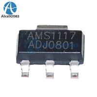 100PCS AMS1117-ADJ LM1117-ADJ AMS1117 LM1117 IC 1A Voltage Regulator SOT-223