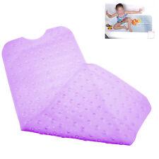 Transparent Purple PVC Extra Long Anti-slip Bathtub Non-slip Mat 40x100cm