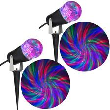 Holiday Light Show Mulit-Color Projection Light Ribbon *2-Piece Combo Pack* NEW
