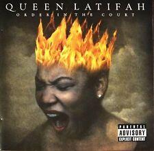 QUEEN LATIFAH. ORDER IN THE COURT.  CD ALBUM. EXCELLENT. UK DISPATCH