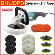Profi Poliermaschine Auto Polierer Set Schleifmaschine 1200W 600-3000U/min DHL