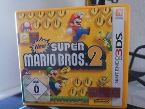 New Super Mario Bros 2 Nintendo 3DS Spiel OVP Sehr Guter Zustand Getestet