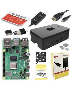 CanaKit Raspberry Pi 4 4GB Starter Kit 4GB RAM