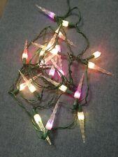 20 luci natale colore vintage natalizie Christmas albero intermittenti ghiaccio