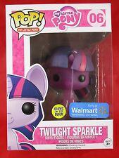 Funko Pop Only at Walmart Glows in The Dark PURPLE Twilight Sparkle #06