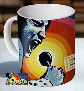 Elvis Presley On Tour Ceramic Coffee Mug - Cup