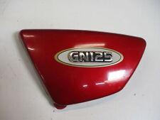 2. Suzuki GN 125 NF41A Verkleidung Sitzbank Seite links Seitendeckel
