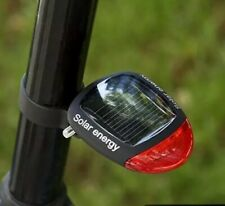 Bike Light LED Safety Rechargeable Bicycle Solar Panel Fast USA Shipping Detroit