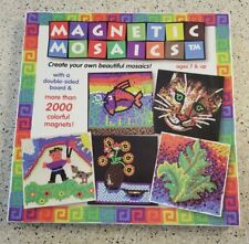 Magnetic mosaics  2000 pieces age 7 & up kids art toy