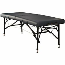 Mt Massage Table 28 inch Violet Sport Aluminum Portable Table Bed Royal Blue