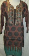 Elegance silk embroidery kurta/top size L 42