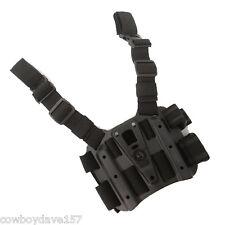 BlackHawk CQC Serpa Tactical Holster Platform 432000PBK Black Authentic